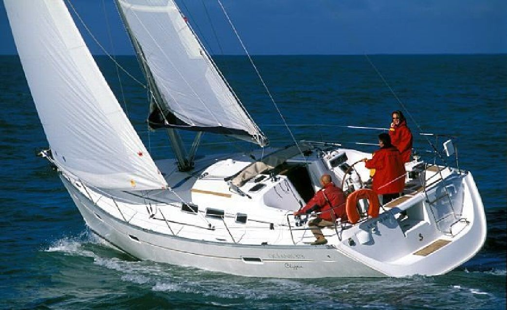 Oceanis Clipper 373 Top Bild
